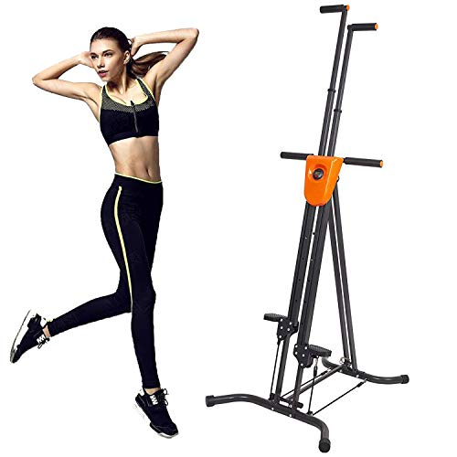 Cheap KARMAS PRODUCT Step Machine Exercise Gym Climbing Vertical Climber Fitness with Digital Display