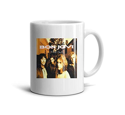 Bon-Jovi-These-Days- Classic Coffee Mugs 11oz Ceramic Tea Cups,Bon Jovi These,One Size