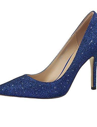Femmes Chaussures Scintillent Royal Bleu Noir Shangyi Robe Talon Talons Aiguille Rouge Talons Gris Bleu Or Violet Casual Argent Pompes Rose dwqwr1EnW
