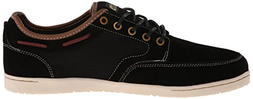 Etnies Dory, Men's Low-Top Trainers Black/White/Gold