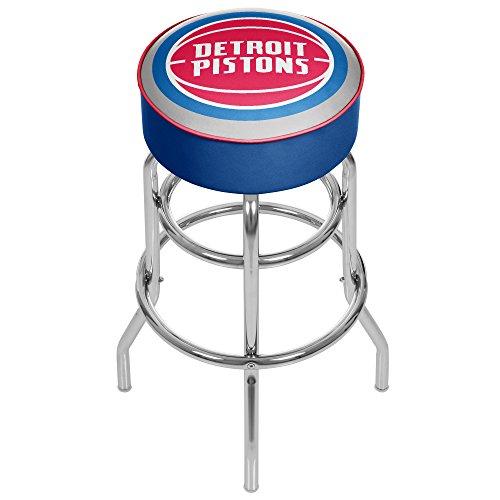 NBA Detroit Pistons Padded Swivel Bar Stool