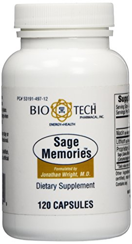 BioTech Pharmacal - Sage Memories - 120 Count