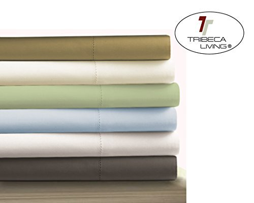 Tribeca Living Egyptian Cotton Sateen 800 Thread Count 24