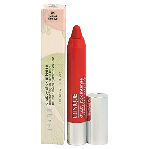 Clinique Chubby Stick Intense Moisturizing Lip Colour Balm, Heftiest Hibiscus, 0.1 Ounce by Clinique