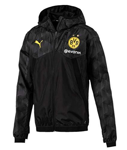 Schwarz Puma Windjacke Wind Borussia Dortmund Schwarz cKl3F1JT