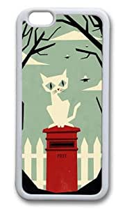 Apple Iphone 6 Case,WENJORS Awesome Lets meet at the red post box Soft Case Protective Shell Cell Phone Cover For Apple Iphone 6 (4.7 Inch) - TPU White