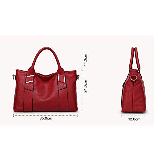Utile à main bandoulière pour tendance grand Rouge capacité sac Femme pratique sac et joli Cadeau Belle léger Noël à wzAxXIg