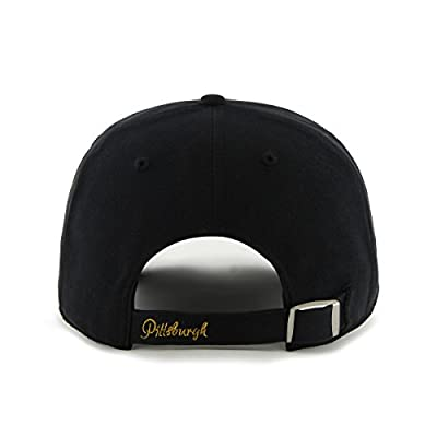 MLB Pittsburgh Pirates Sparkle Adjustable Hat, Womens, Black