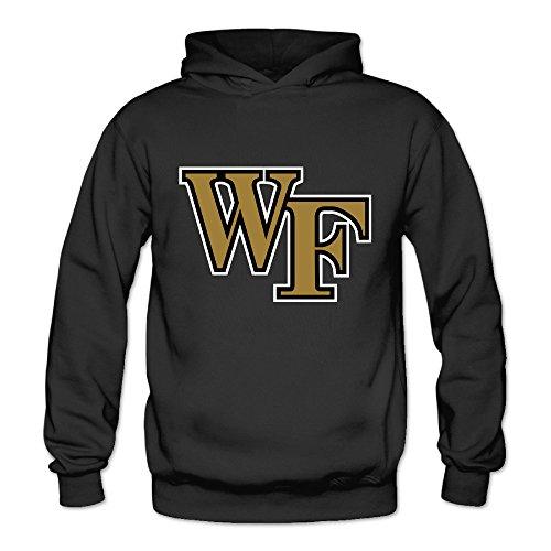 Geheimnis Gross Women's Wake Forest Demon Deacons 4 Hoodies Sweatshirt Size L US Black