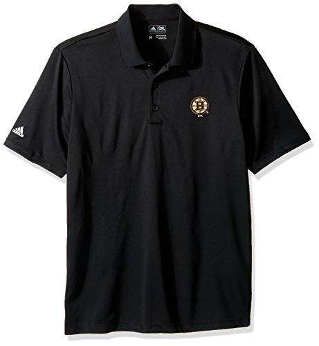 NHL Boston Bruins Adult Men adidas Performance Polo,Medium,black