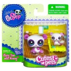 Littlest Pet Shop Cutest Pets Series 2 Figures Mommy Baby - And Baby Shop Mommy Littlest