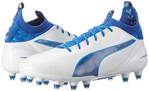 Danube Fg Blue Homme De Pour blue 05 puma Pro Evotouch White Puma Chaussures Football Blanc true SHqBxw64w