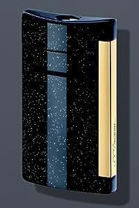 S.T. Dupont Minijet Glitter Lighter - Black 10058