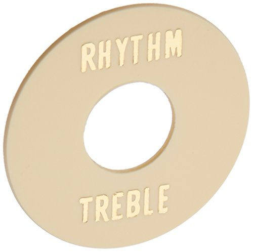 Treble Ring (WD Music RT6 Rhythm Treble Ring For Single Cutaway Style Guitar, Rt6 - Cream)