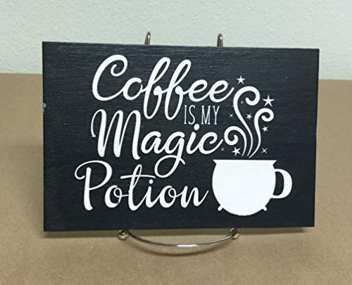 (Adonis554Dan Funny wood Signs Coffee Signs Kitchen Signhabby Chic Signs Halloween Coffee Signs Witches Brew Rustic Signs Primitive Signs)