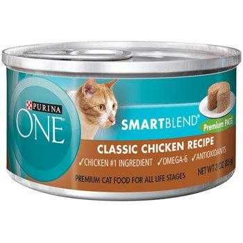Purina ONE Smart Blend Classic Chicken Premium Pate Canned C