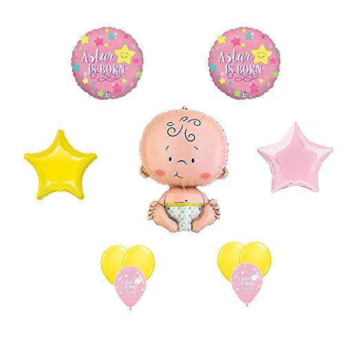 A Star Is Born Baby Girl Shower Balloon Decorating Kit (A Star Is Born Baby Shower compare prices)