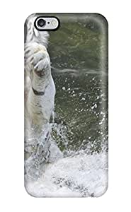 Rene Kennedy Cooper's Shop Hot 4860280K61068398 Tpu Shockproof/dirt-proof White Tiger Cover Case For Iphone(6 Plus)