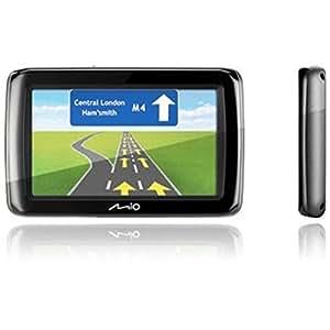 Mio Spirit 485 CEU - Navegador GPS con mapas de 19 países de Europa central (pantalla de 10,8 cm (4,3''), canal TMC)