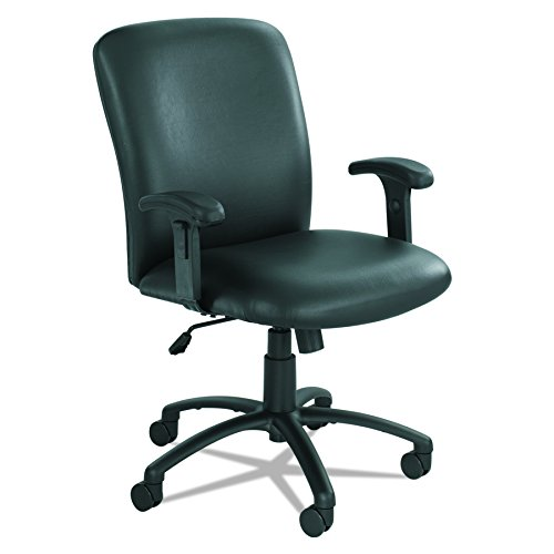 Safco Products 3490BV Uber Big and Tall High Back Chair (Optional arms sold separately), Black Vinyl by Safco Products