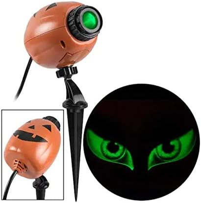 Gemmy EyeScreams Twinkling Green Led Multi-Design Halloween Indoor Outdoor