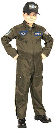 Rubie's Costume Co Air Force Fighter Pilot Costume, Medium