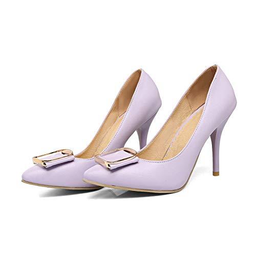 Dance Ballroom Pumps Purple Urethane Solid Womens APL10834 Shoes Toggle Travel BalaMasa qw4nOItA0