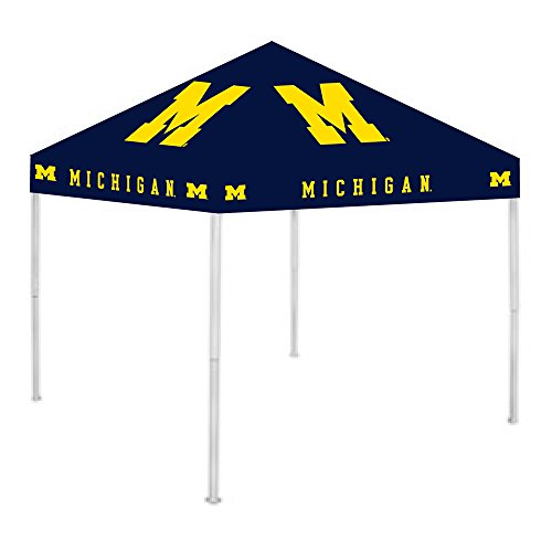 Rivalry NCAA 9 Ft. W x 9 Ft. D Canopy NCAA Team: Michigan