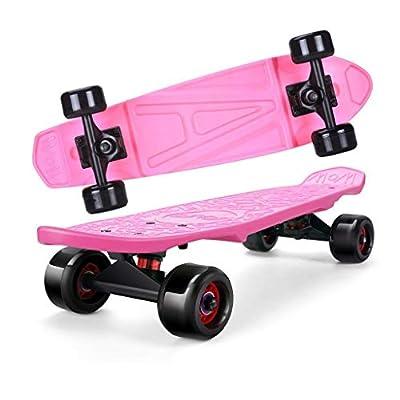 Aniseed Skateboard Banana Fish Board 24 Inch Pink Pattern : Sports & Outdoors