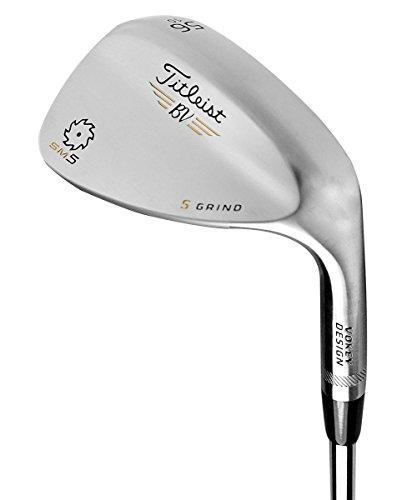 New Titleist Golf- LH Vokey SM5 Tour Chrome Wedge 56*/14* F Grind (Left Handed) by Titleist