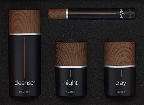 Skincare Kit 4 Piece Set for Men  Women  Winner Best Choice Reviews Top 10 Skincare Kits  Cleanser