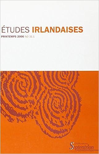 Livre gratuits en ligne Etudes irlandaises, N° 31/1 : pdf, epub