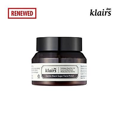 [KLAIRS] Gentle Black Sugar Facial Polish, exfoliate, scrub, blackhead remover, 110g by KLAIRS