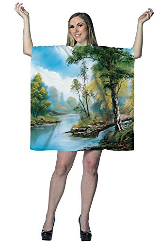 Morris Costumes Bob Ross Painting Dress