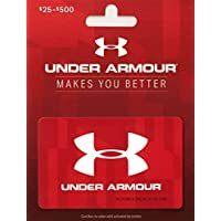 Deals on $60 Under Armour Gift Card Email Delivery