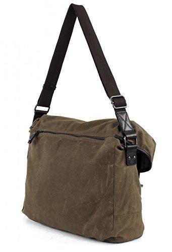 DAVID Mount CAMP Logan Messengerbag Khaki 5dTqT4