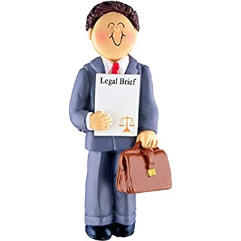 Personalized Lawyer Christmas Ornament for Tree 2018 - Brunette Counselor  Man Attorney Legal Brief Scale Justice Judge Professional Barrister  Practice Law ... - Amazon.com: Legal Scale, Lawyer Personalized Christmas Ornament