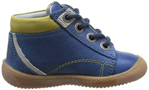 Aster Pitt Baby Jungen Lauflernschuhe Blau - blau