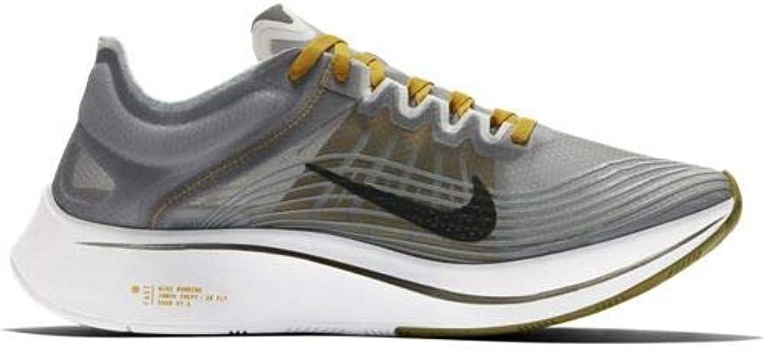 Nike Zoom Fly SP, Zapatillas de Trail Running para Hombre, Multicolor (Black/Peat Moss/White 003), 44 EU: Amazon.es: Zapatos y complementos