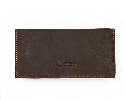 Bolsa para tabaco de liar en piel Zippo: Amazon.es: Salud y ...