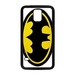Samsung Galaxy S5 Cell Phone Case Black Batman logo 001 VC949295