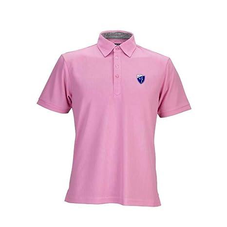 Polos Manga Corta Hombre Golf Poloshirt Verano T-Shirt S-XXL,Pink ...