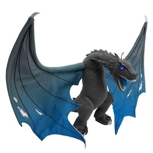 Factory Entertainment Game of Thrones ICY Viserion Jumbo Dragon Plush, - Jumbo Dragon