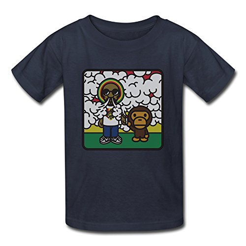 Unisex-Funny Baby Snoop Dogg Lion Tees Shirt. (Herbal Vaporizer Gpen compare prices)