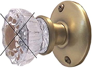 New Premium Retrofit Kit-Install Antique Knobs-ANY DOOR