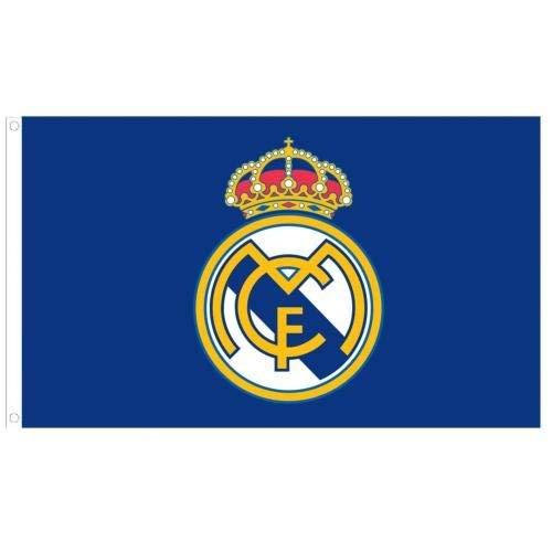 (Real Madrid FC Core Crest Flag)