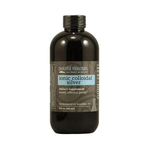 Peaceful Mountain Ionic Colloidal Silver, 6 Fluid Ounce