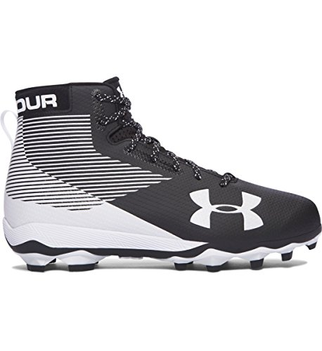 Under Armour Hammer MC Men's Football Cleats (14 D US, Black/White)