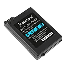 Insten Compatible With SONY PSP 1000 1001 High capacity 1800mAh Battery US