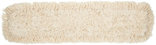 AmazonBasics Dust Mop Head, Cotton, 36-Inch - 6-Pack